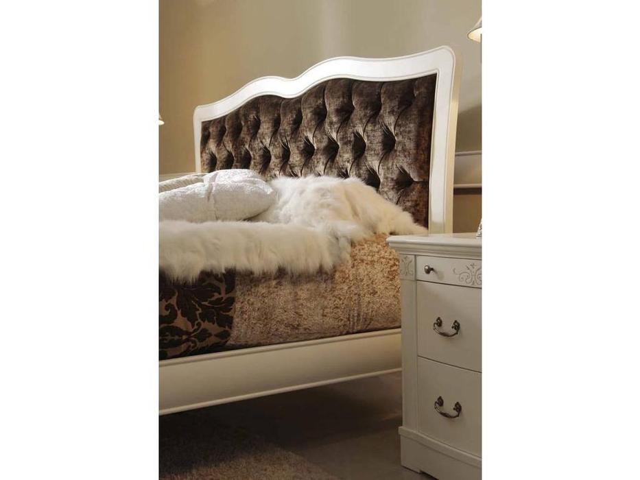 Panamar: Classic: кровать 160х200  (орех)