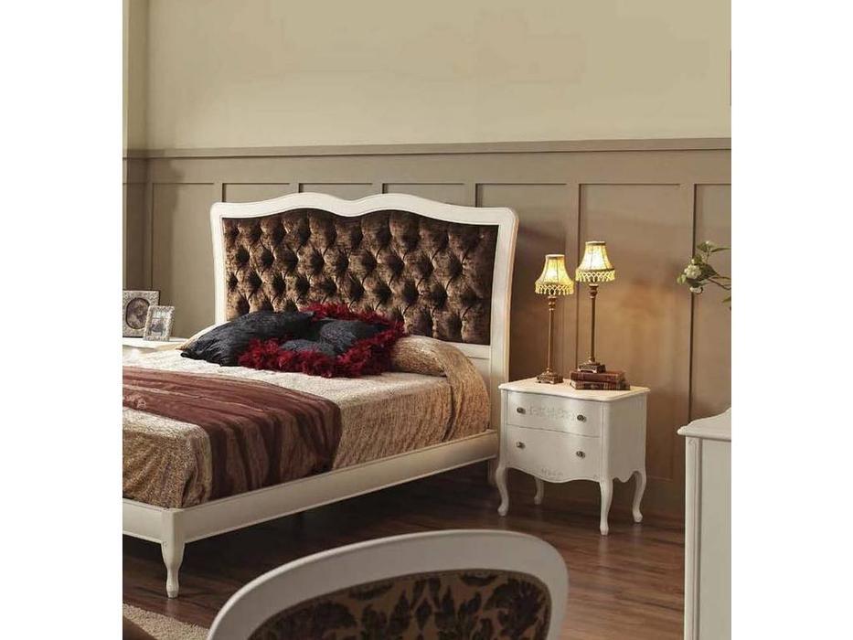Panamar: Classic: кровать 160х200  (белый)