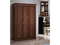Panamar: Classic: шкаф 3-х дверный  (орех)
