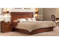 Panamar: кровать 160х200  с подъемным механизмом (орех)