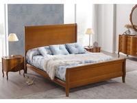 Panamar: Classic: кровать 180х200  (орех)