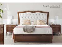 Panamar: кровать 180х200  с подъемным механизмом (орех)