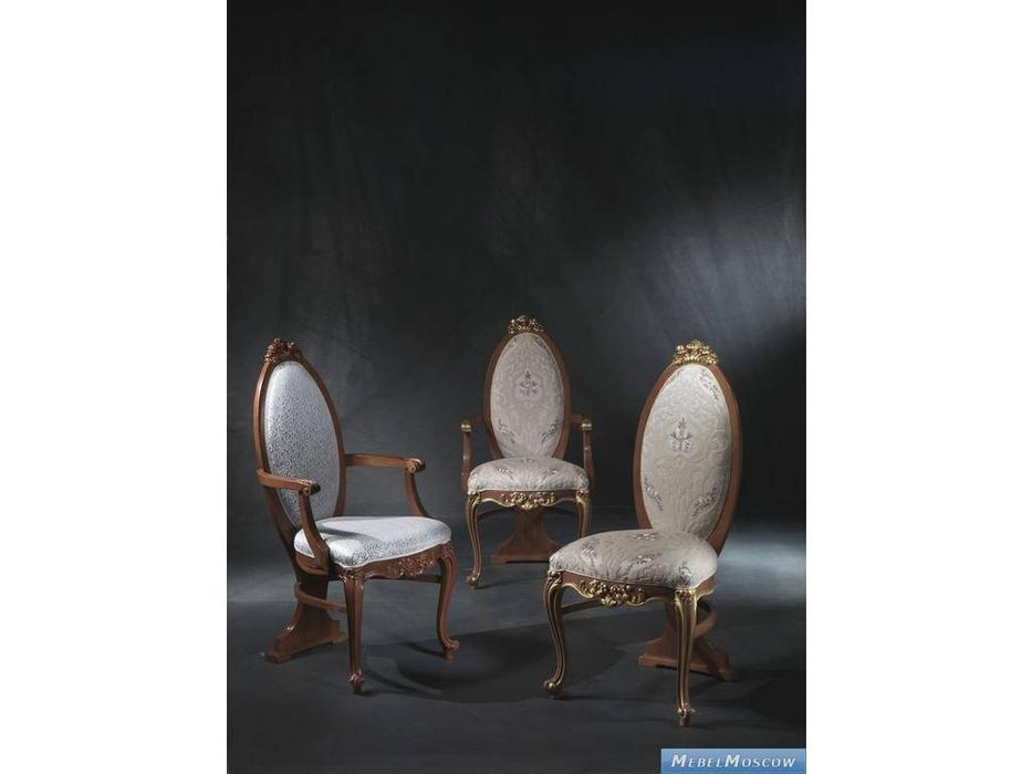 Carpanelli: Vanity: стул с подлокотниками  (laccata patinata)