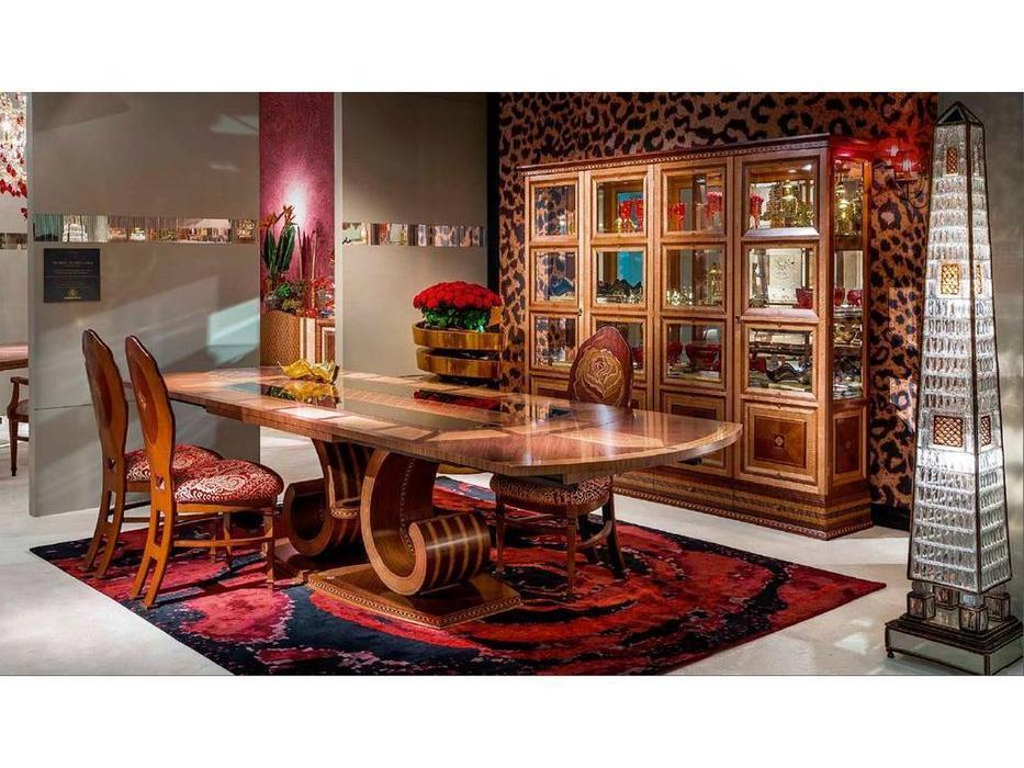 Carpanelli: Arts: стол обеденный  раскладной (клен, орех)