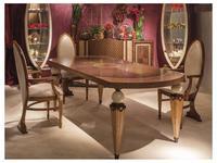 Carpanelli: Arts: стол обеденный  раскладной (орех)