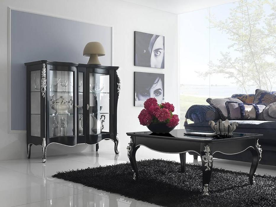 Italexport Италэкспорт: Venere: стол журнальный  (черный)