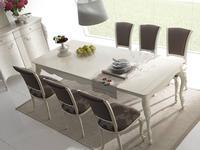 Italexport Италэкспорт: Venere: стол обеденный раскладной  (белый)