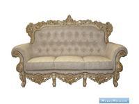 Alberto Grani: Strong: диван 3-х местный  (слоновая кость)ткань