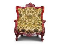 Alberto Grani: Lite: кресло  (красное дерево, ткань)