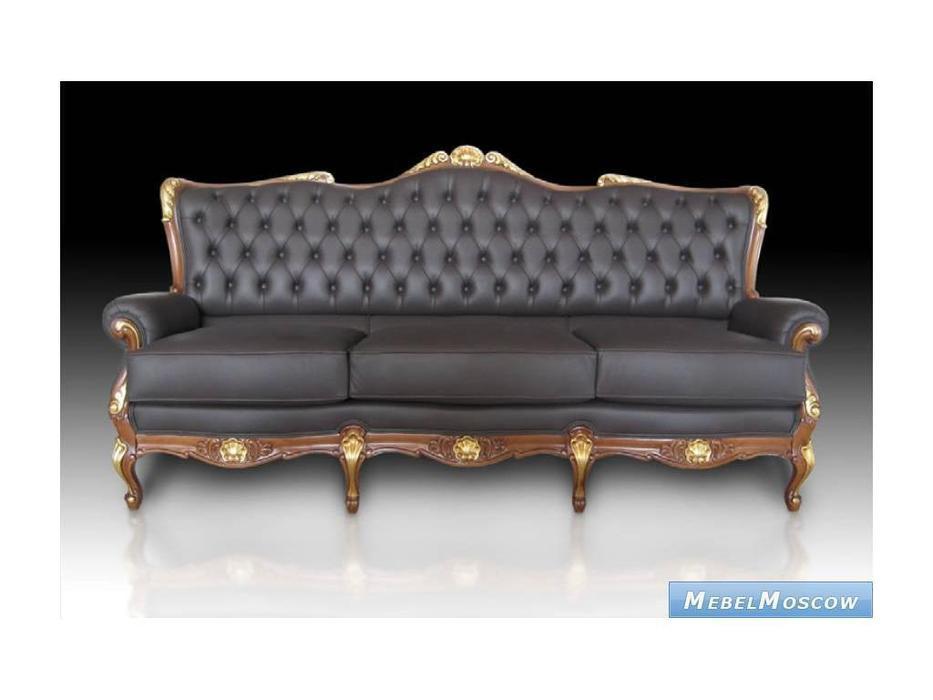 Punto Tapizados: Napoleon: диван 3-х местный кожа