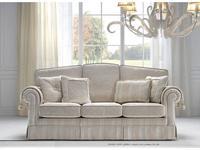 Siwa Zandarin: Vincent: диван 3-х местный ткань Silver