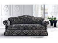 Siwa Zandarin: Amadeus: диван 3-х местный ткань Silver