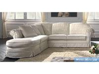 Siwa Zandarin: Belletage: диван угловой ткань Silver