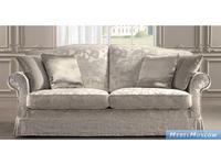 Siwa Zandarin: Giulietta: диван 2-х местный ткань Silver