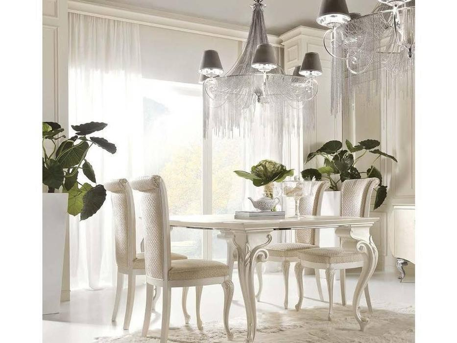 Bova: Carol: стол обеденный  (perla anticato TR01)