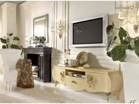 Bova: Vinci: тумба под телевизор  (avorio perlato oro TR03)