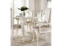 Bova: Alice: стул с подлокотниками  (perla anticato TR01/TS45)