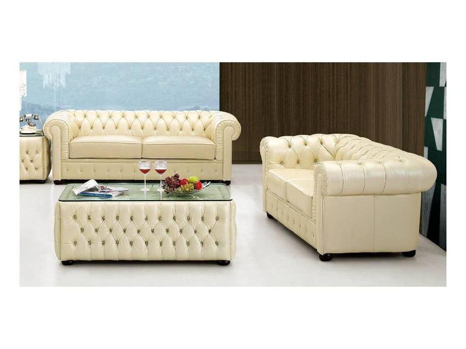 Dupen: диван 2-х местный  (кожа ESF 31)