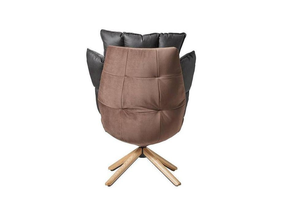 ESF: кресло  вращающееся (коричневый, серый)