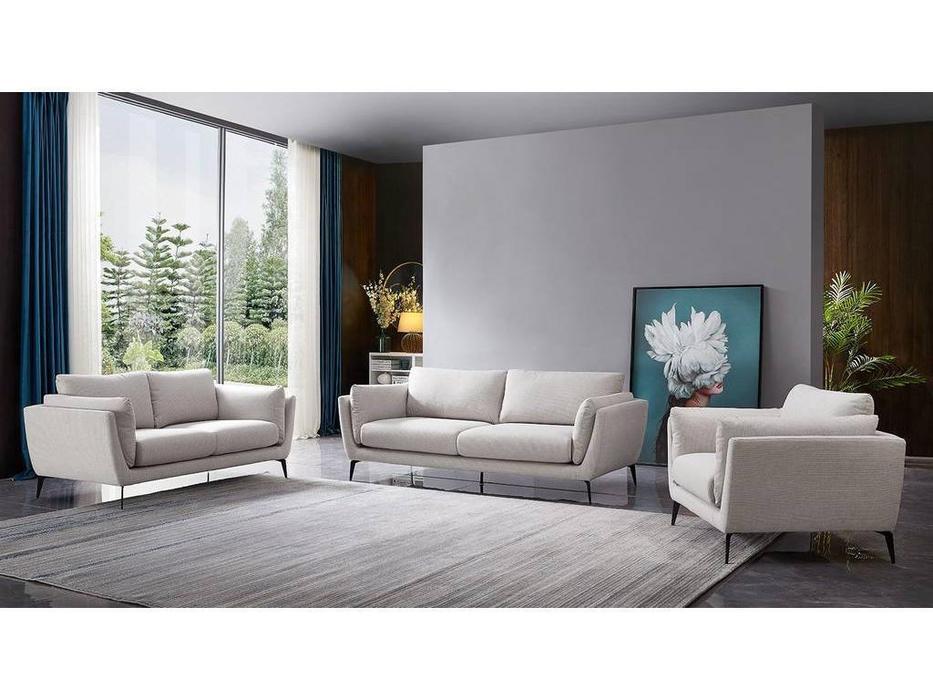 ESF: Amsterdam: комплект мягкой мебели (бежевый)
