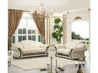 Dupen: Versace: диван 2-х местный (белый)