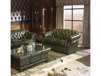 ESF: диван 2-х местный  (зеленый)