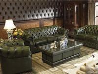 ESF: диван 3-х местный  раскладной (зеленый)