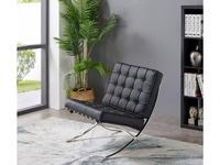 ESF: кресло  (черный, хром)