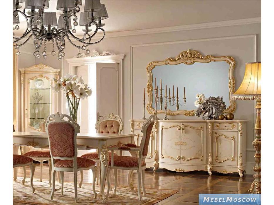 А и М Ghezzani: Роял: зеркало  (слоновая кость, золото)