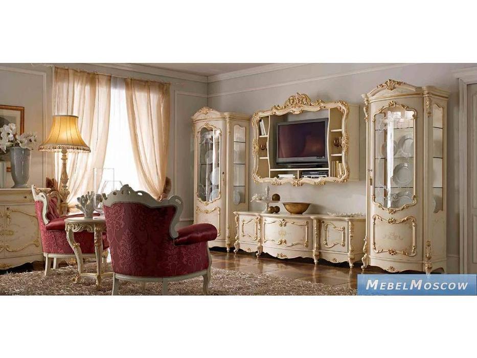 А и М Ghezzani: Роял: гостиная комната (слоновая кость, золото)