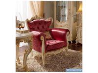 А и М Ghezzani: Роял: кресло для отдыха  (слоновая кость, золото)
