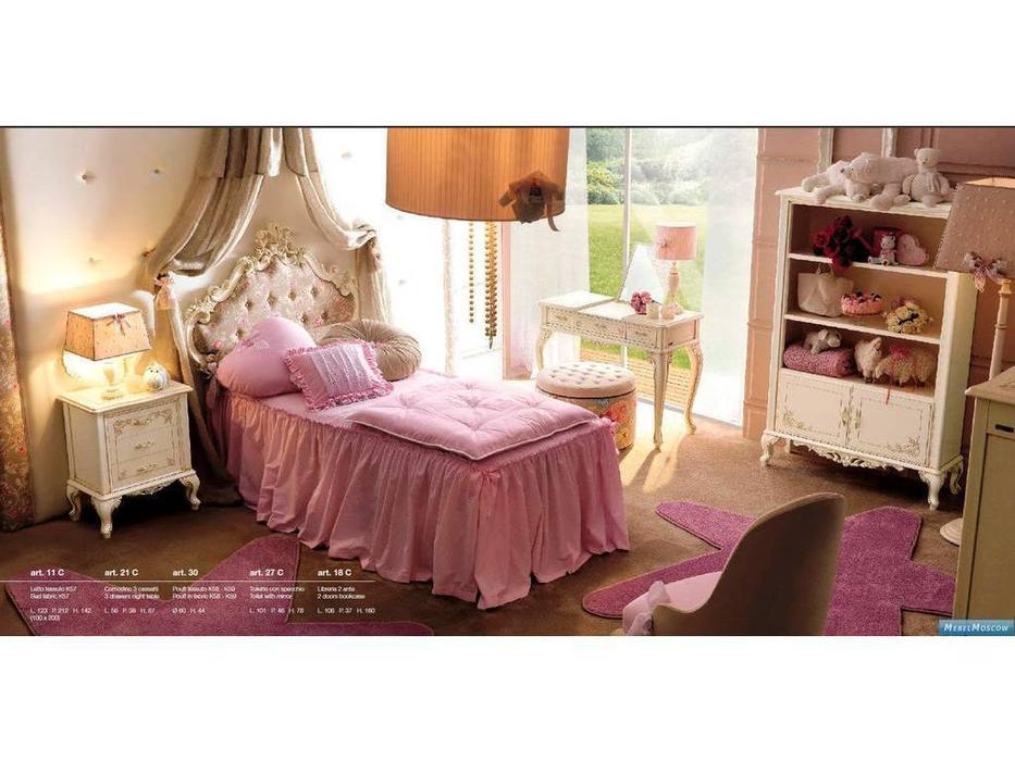 GiorgioCasa: Bimbi: детская комната (слоновая кость, розовый)