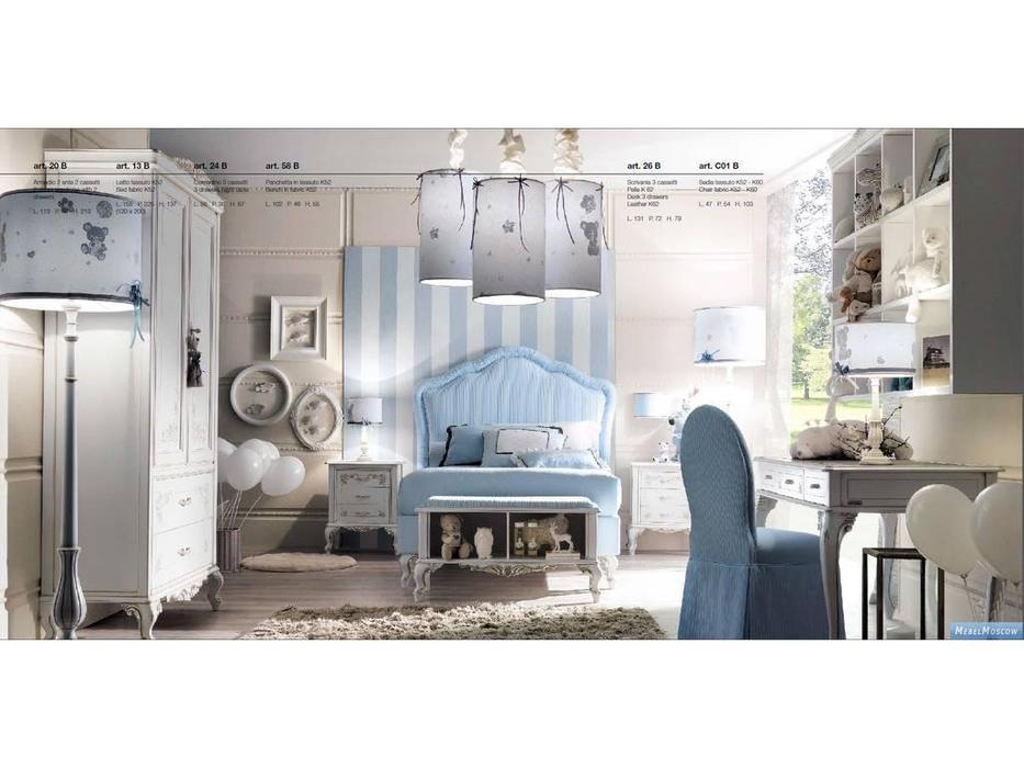 GiorgioCasa: Bimbi: детская комната (белый, голубой)