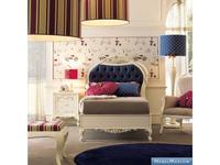 GiorgioCasa: Bimbi: кровать детская  100х200 (слоновая кость, синий)