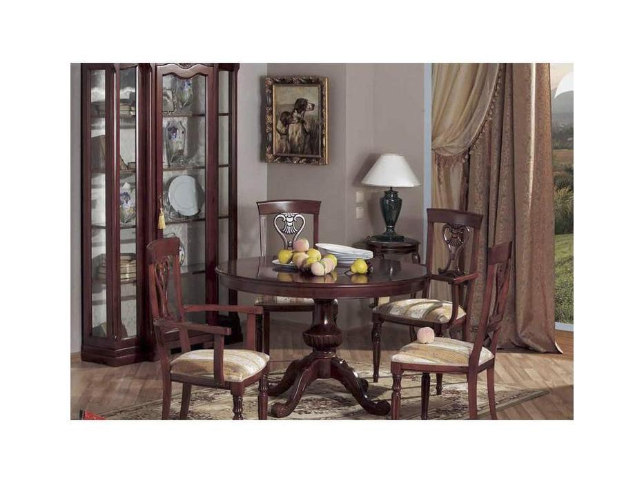 Cavio: Fiesole: стол обеденный Фиесоле раскладной 120/160  (орех фиорентино)