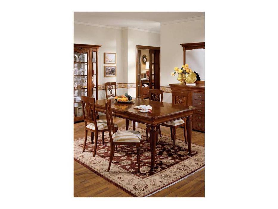Cavio: Fiesole: стул Фиесоле  ткань (орех фиорентино)