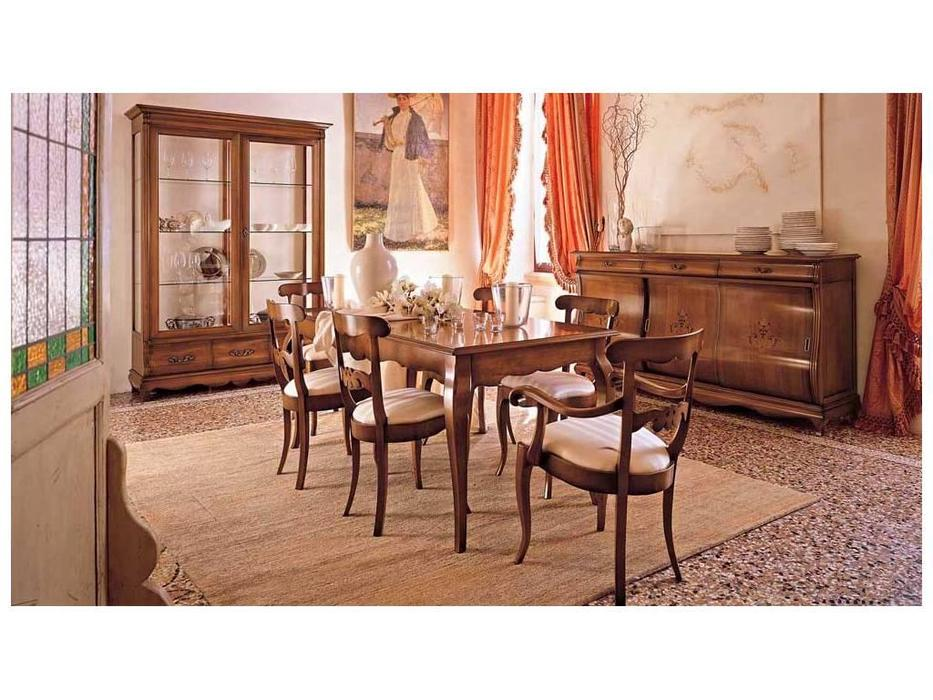 Cavio: Мадейра Intarsio: стул  ткань (черешня Мадейра)