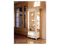 Cavio: Madeira: витрина 1 дверная 1 ящик  правая (белый, черешня)