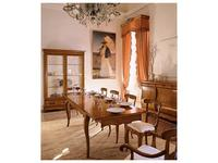 Cavio: Мадейра Intarsio: стол обеденный прямоугольный раскладной 180/280  (черешня Мадейра)