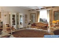 Cavio: Benedetta: витрина 1 дверная  левая (слоновая кость, золото)