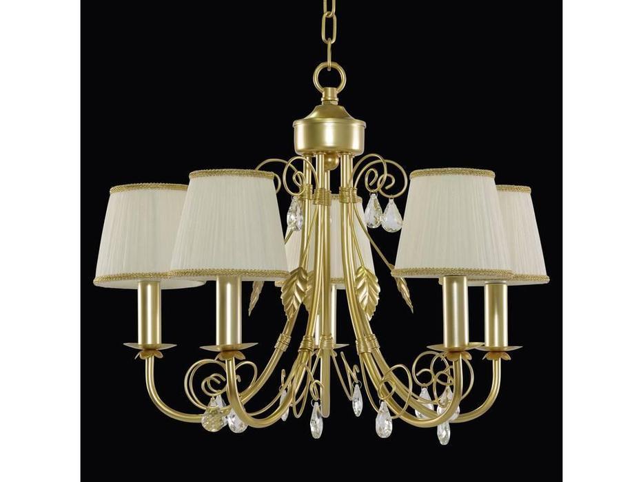 Lightstar: Modesto: люстра 5х40W E14   (золото)