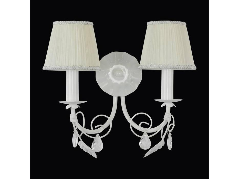 Lightstar: Modesto: бра 2х40W E14   (белый)