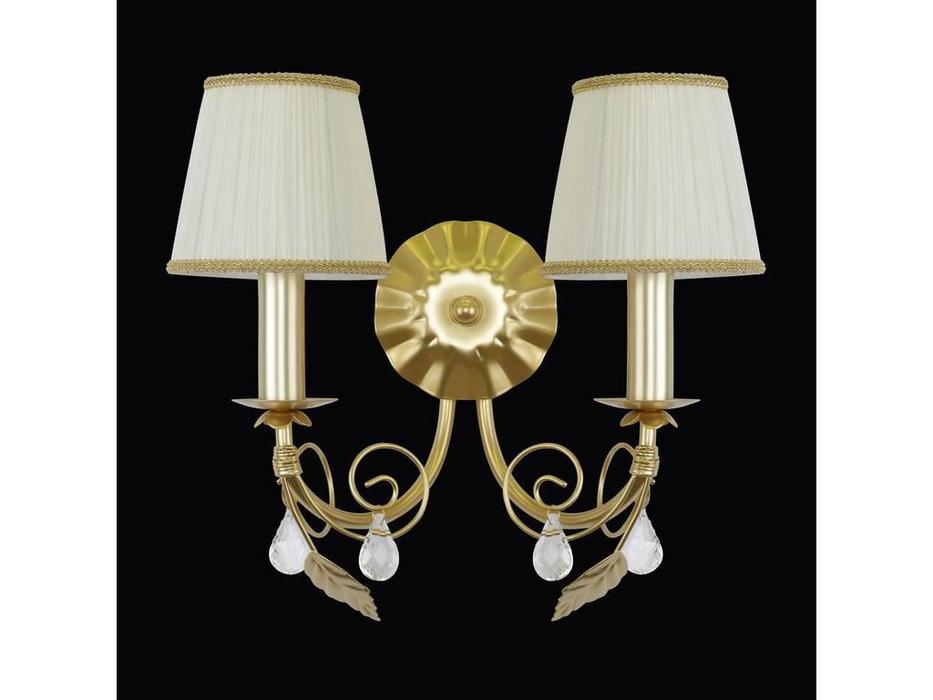Lightstar: Modesto: бра 2х40W E14   (золото)