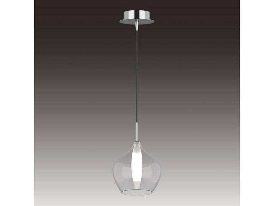 Lightstar: Pentola: люстра подвесная 1х25W G9 (хром, белый)