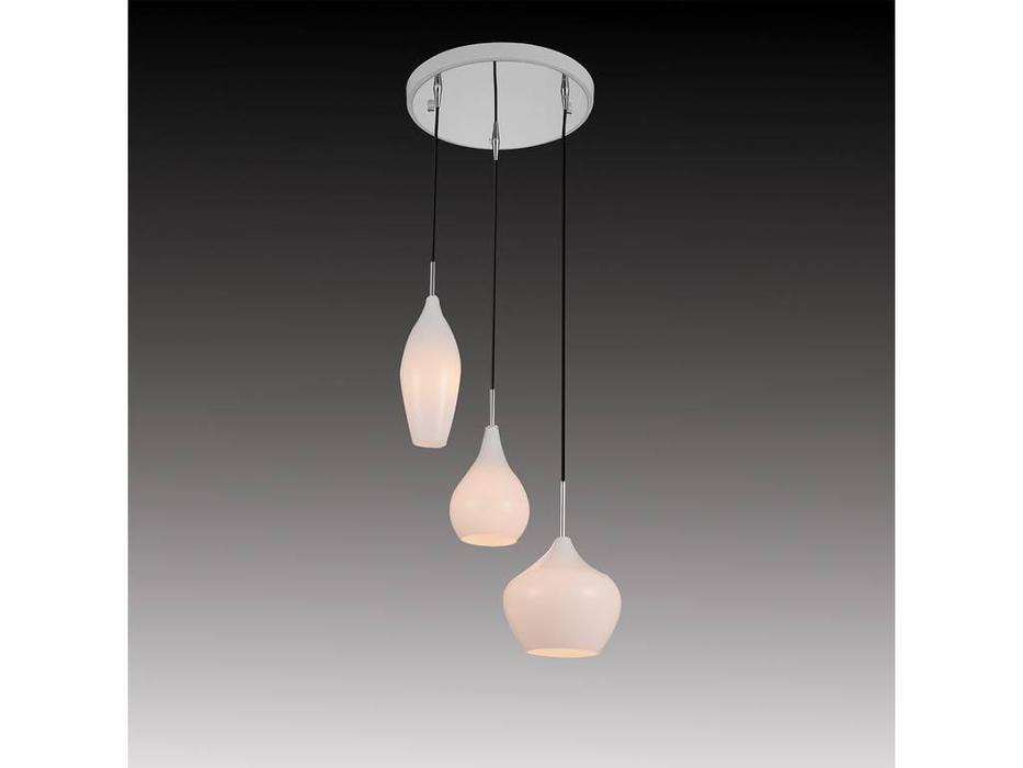 Lightstar: Pentola: люстра подвесная 3х25W Е14 (белый)