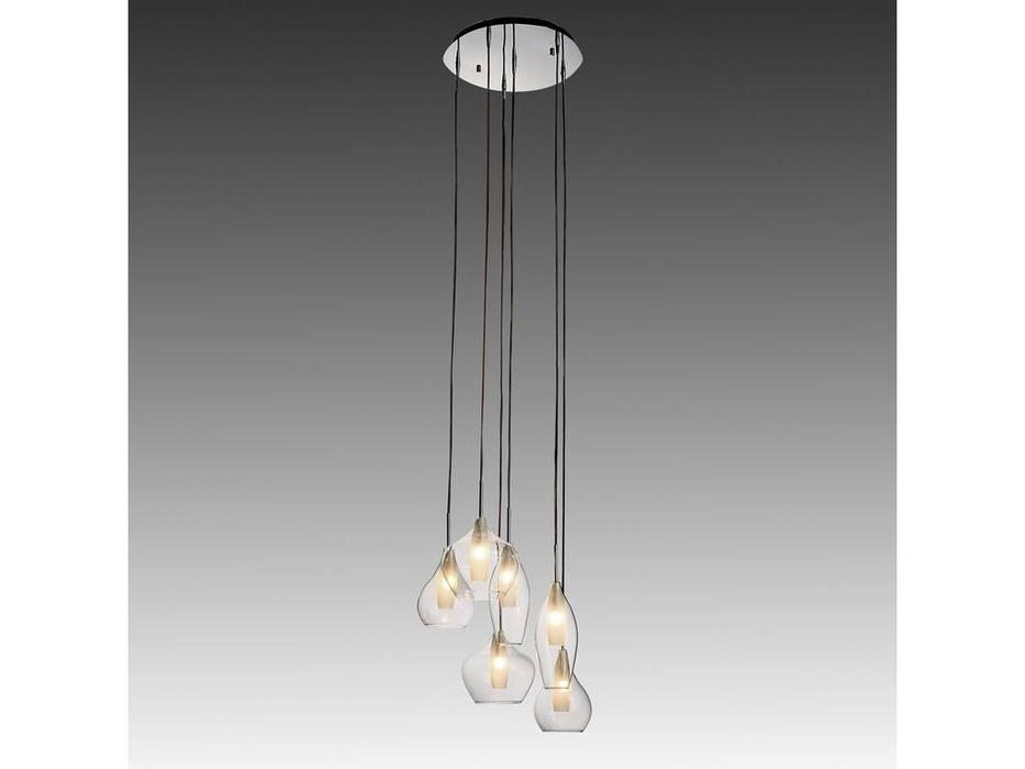 Lightstar: Pentola: люстра подвесная 6х40W Е14 (белый)