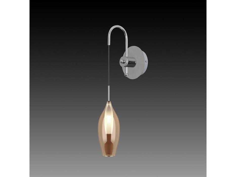 Lightstar: Pentola: бра 1х25W G9 (янтарь)