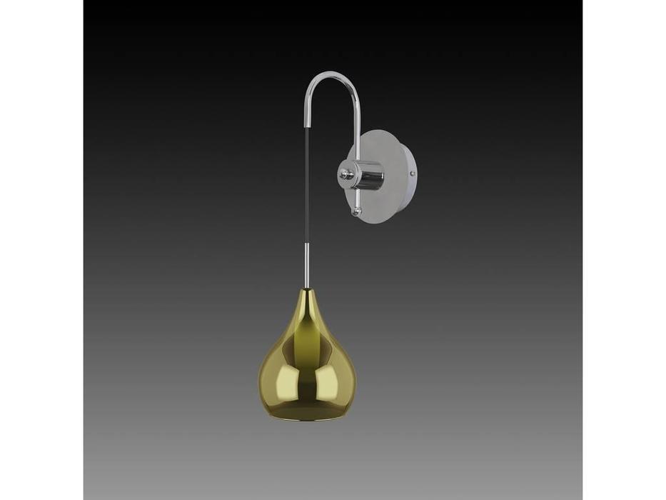 Lightstar: Pentola: бра 1х25W G9 (серебро, коричневый)