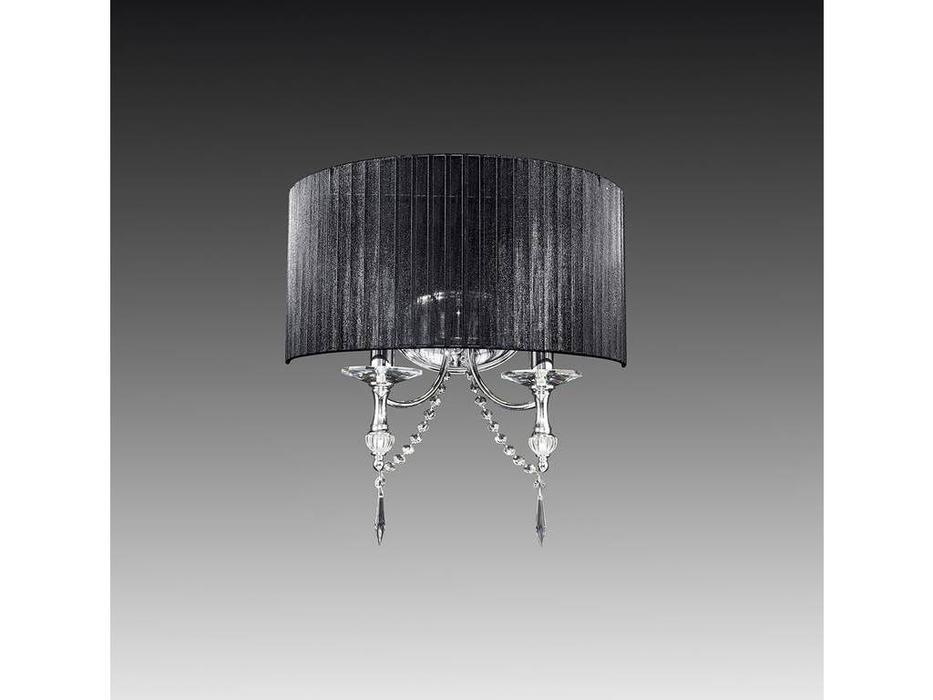 Lightstar: Paralume: бра 2xE14 max 40W (черный)