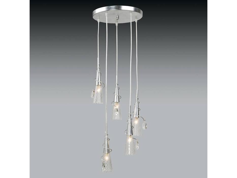 Lightstar: Aereo: люстра  5х40W G9 (серебро матовое)